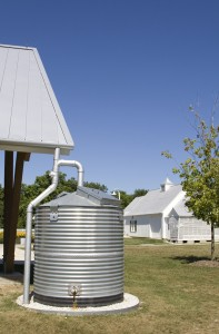 Bulk water delivery to refill rainwater cistern